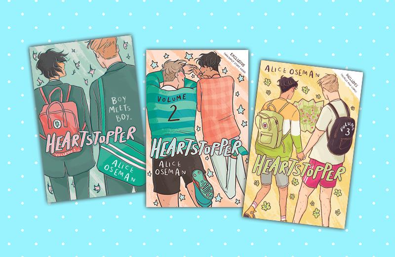 Heartstopper Colouring Sheets | Hachette UK